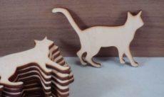 кошки из фанеры