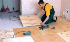ДВП при ремонте квартир в СПб