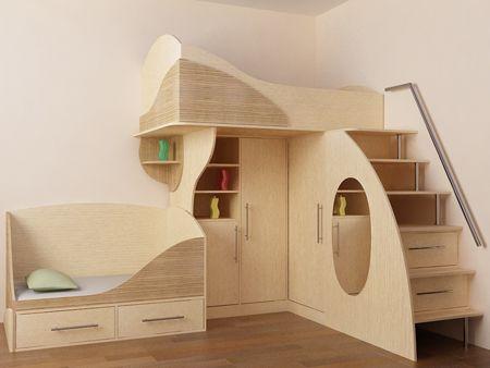 мебель в детскую из фанеры