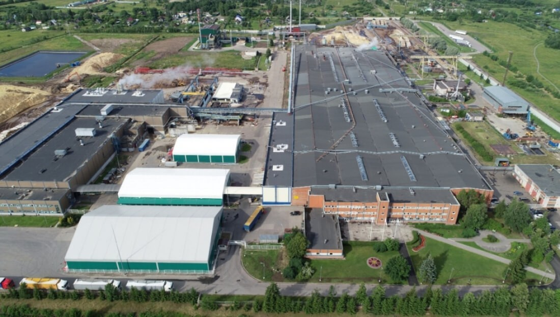 фанерный завод в Чудово