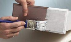 Чем покрасить мебель из ламинированного ДСП