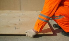 Какую выбрать фанеру для бетонного пола